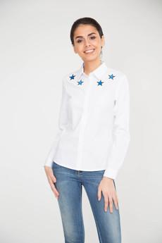 Блузка с вышивкой Звезды Marimay